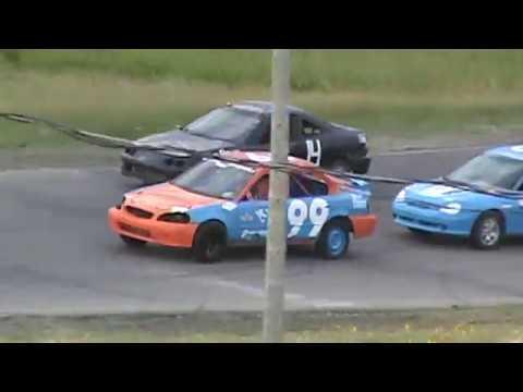 Kings Park Speedway Mini Stock Heat #1 Race Day #5