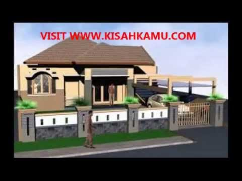 Desain Pagar Rumah Minimalis Luxury House And Apartment Design