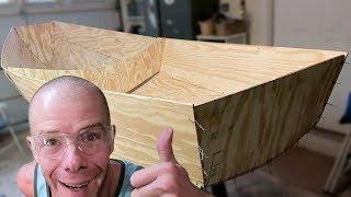 Building A Chameleon Sailing Dinghy | Lofting Plywood - #1