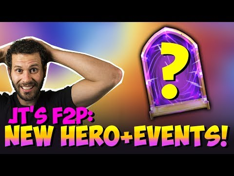 JT's F2P New Hero New Events Tons Of Rewards Castle Clash