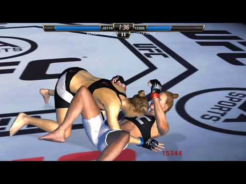 EA sports ufc gameplay-ronda rousey vs holly holm you must see by gameaddicted1