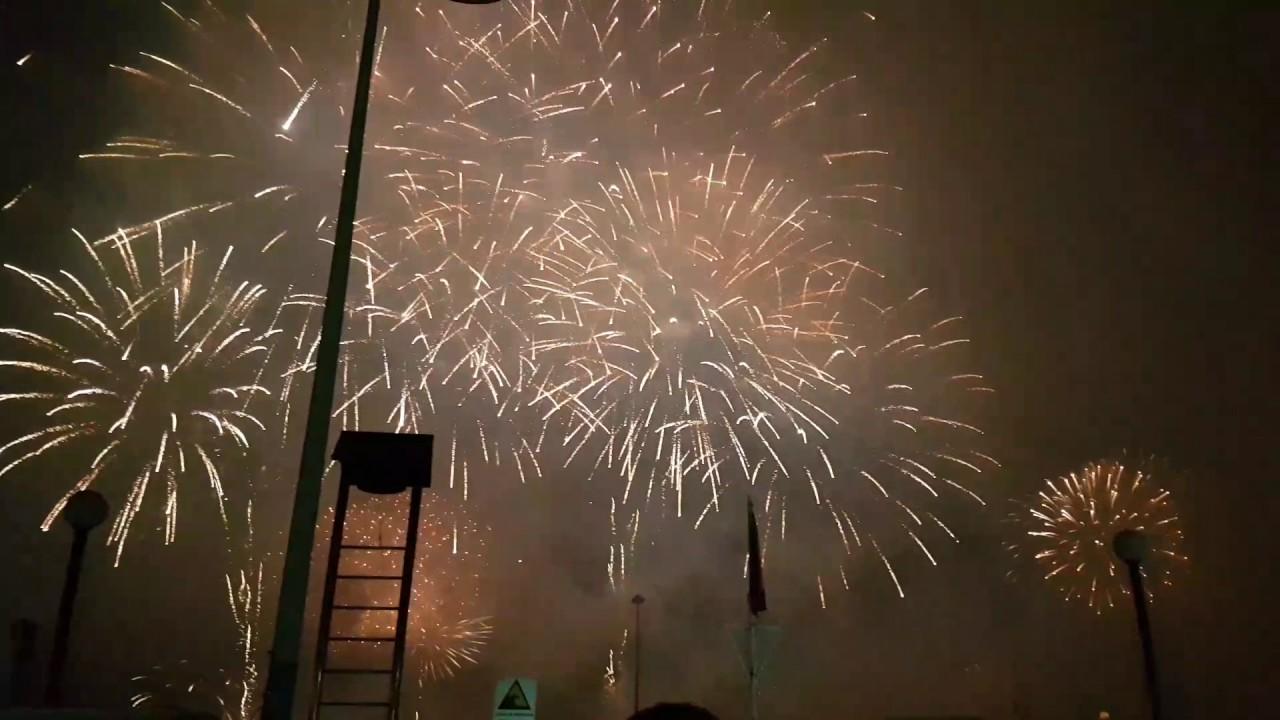 Fuegos Artificiales Valparaiso 2017 Youtube