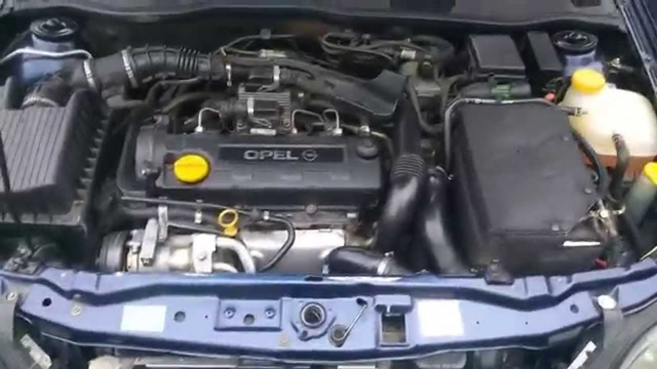 opel astra g 1.7dti engine working - youtube