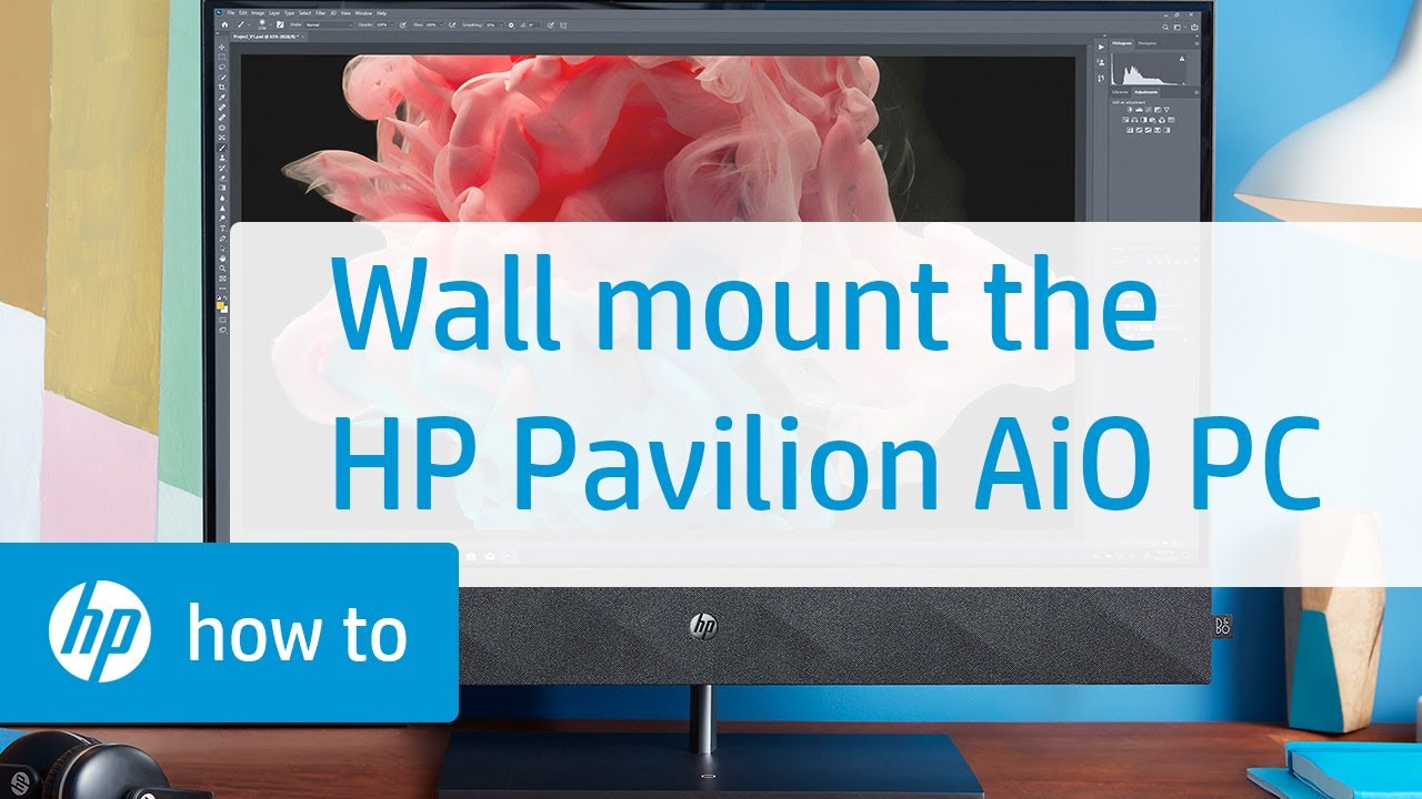 Removing The Monitor Stand For Wall Mounting Hp Pavilion