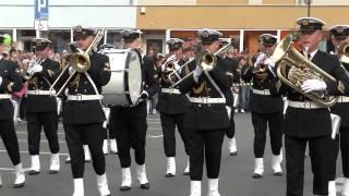 Parada Orkiestr Wojskowych Żagań 2015 Jarmark Michała