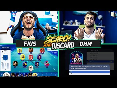 SEARCH AND DISCARD *ESTREMA*!!! OHM STAVA PER PIANGERE! FIFA 19 ITA