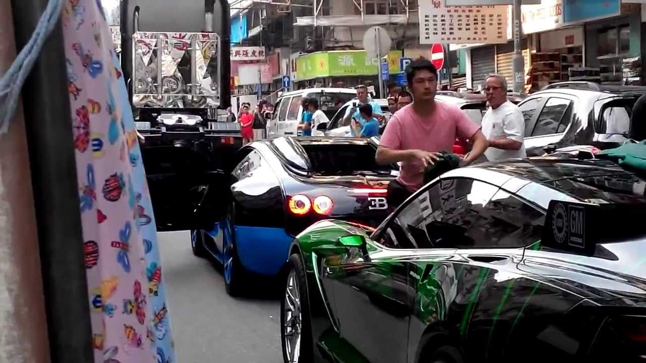 Transformers 4 Filming In Hk Drift Bugatti Veyron