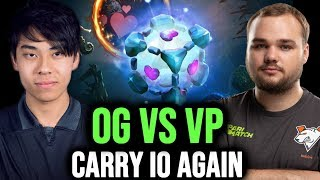 Reason Why You Should Ban IO Wisp vs OG - ana Carry IO Wisp vs Virtus Pro - #TI9 EPIC DOTA 2