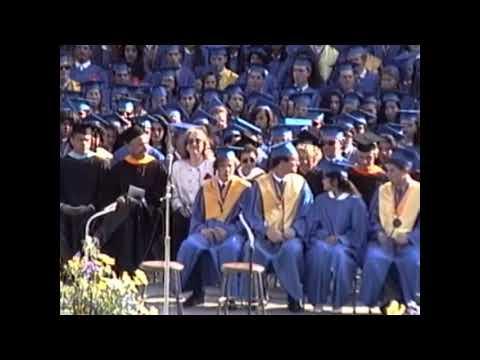 1991 Santa Monica High School Graduation