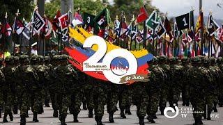 #EnVivo Desfile Militar y Policial del 20 de julio ¡Conécte con Canal Institucional!