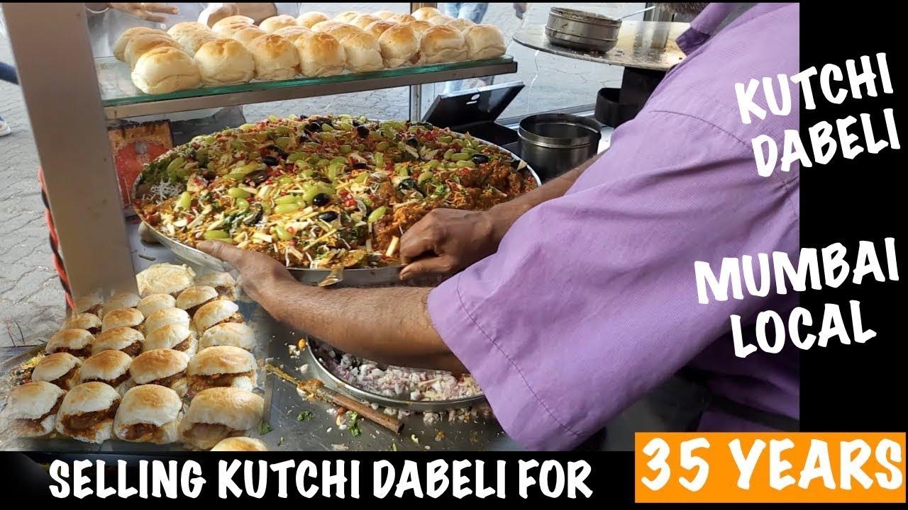 Download This man sells Kutchi Dabeli since last 35 years | Making Kutchi Dabeli | Street Food in Mumbai.