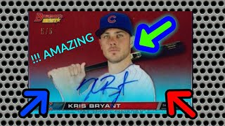 Worst Bowman baseball card opening ever