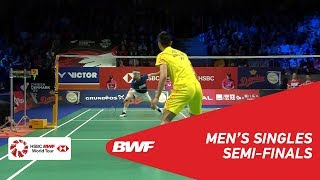 Download Video SF | MS | Anders ANTONSEN (DEN) vs CHOU Tien Chen (TPE) [4] | BWF 2018 MP3 3GP MP4