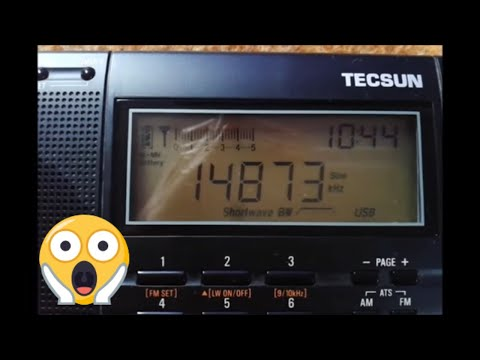 Creepy Number Station - 14,873 MHz - YouTube