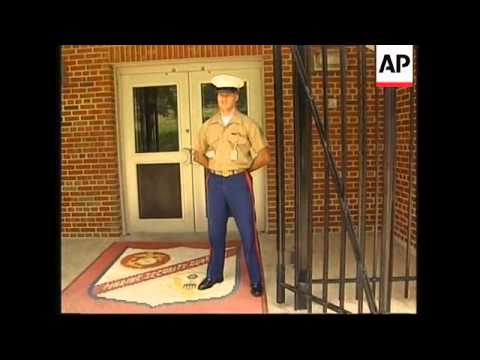 USA: MARINES TRAINING AT MARINE CORPS SECURITY GUARD SCHOOL