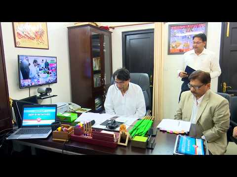 Prabhu inaugurates Wi-Fi System at Stations & starts various trains through video conferencing