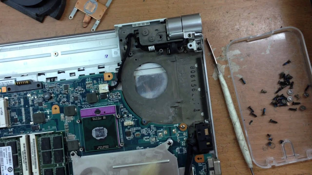 Vệ sinh Laptop Sony Vaio