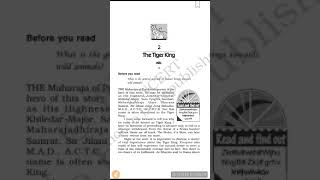 Explanation of The Tiger King part 1 class 12 flamingo english