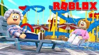 Roblox Wasserpark | Mit Molly und Oma!