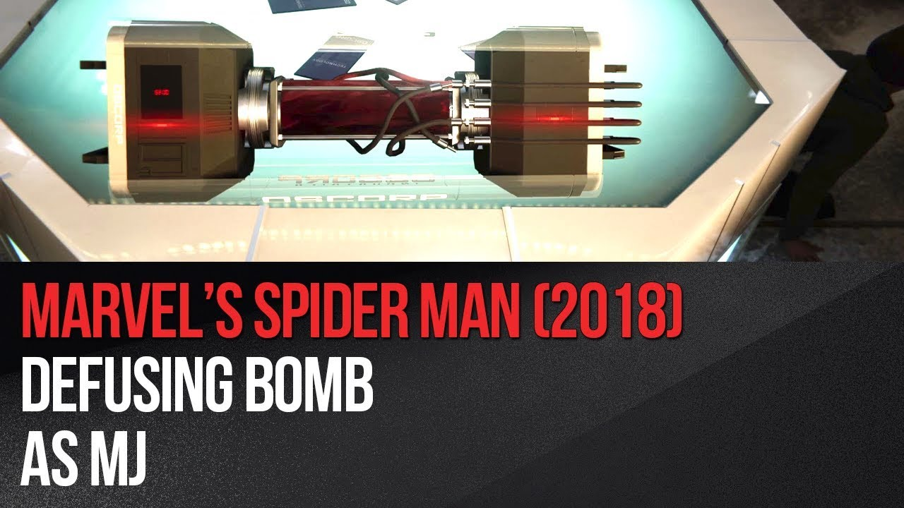 How to disarm a bomb in Marvel's Spider-Man? - Marvel's Spider-Man