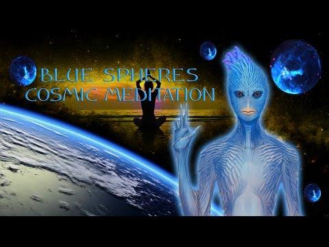 BLUE SPHERES COSMIC MEDITATION 4K-JOHN of LIGHT, DAVID HUTING, MUSIC FROM THE BLUE AVIANS
