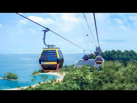 Singapore Sentosa Cable Car Experience | Sentosa Island