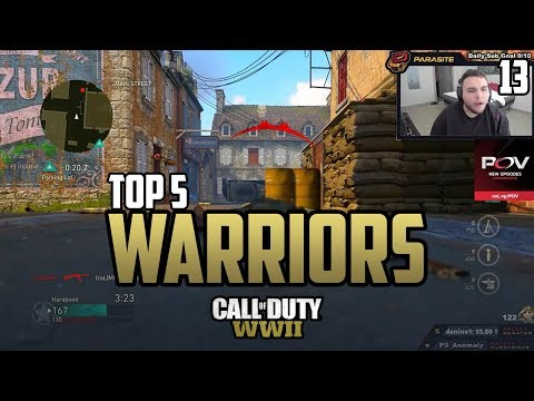 Censor DESTROYS Parasite - COD WWII TOP 5 PRO WARRIORS #13 - Call of Duty World War 2