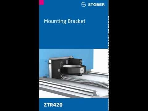 Rack and Pinion System Mounting Bracket