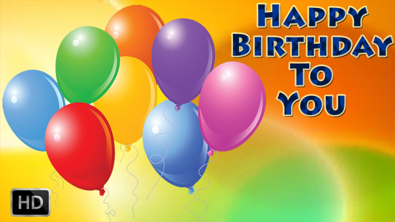 Happy Birthday To You Popular Birthday Song Party Song For