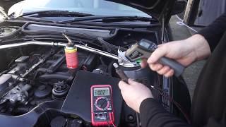 BMW M54 Sondy lambda przed i za katalizatorem