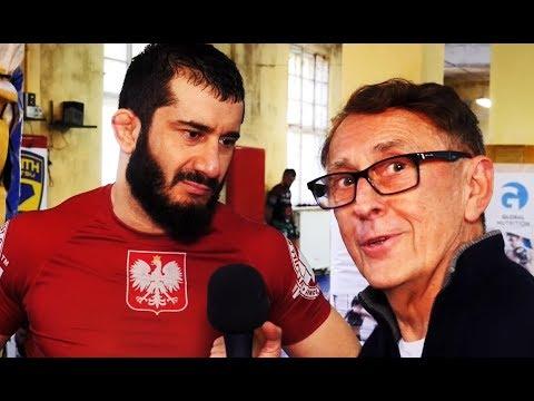 Mamed Khalidov o rewanżu z Narkunem i obrażaniu wiary l Andrzej Kostyra
