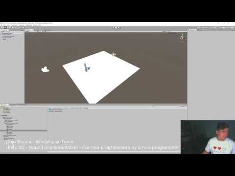 Bjorn Jacobsen - Sound Design: Part 1+2. Unity audio basics and simple collider triggers.