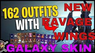 Best Fortnite Skin Combo | Galaxy + Ravage Wings = OP