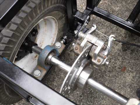 Honda Odyssey Suspension Parts Rigid frame go kart build slideshow - YouTube