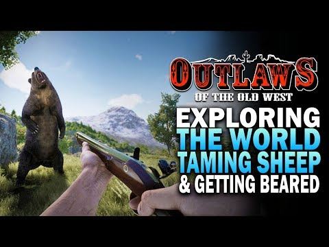 Sheep Taming, Clothing & Exploring The World! Outlaws Of the Old West Gameplay [Western Survival]
