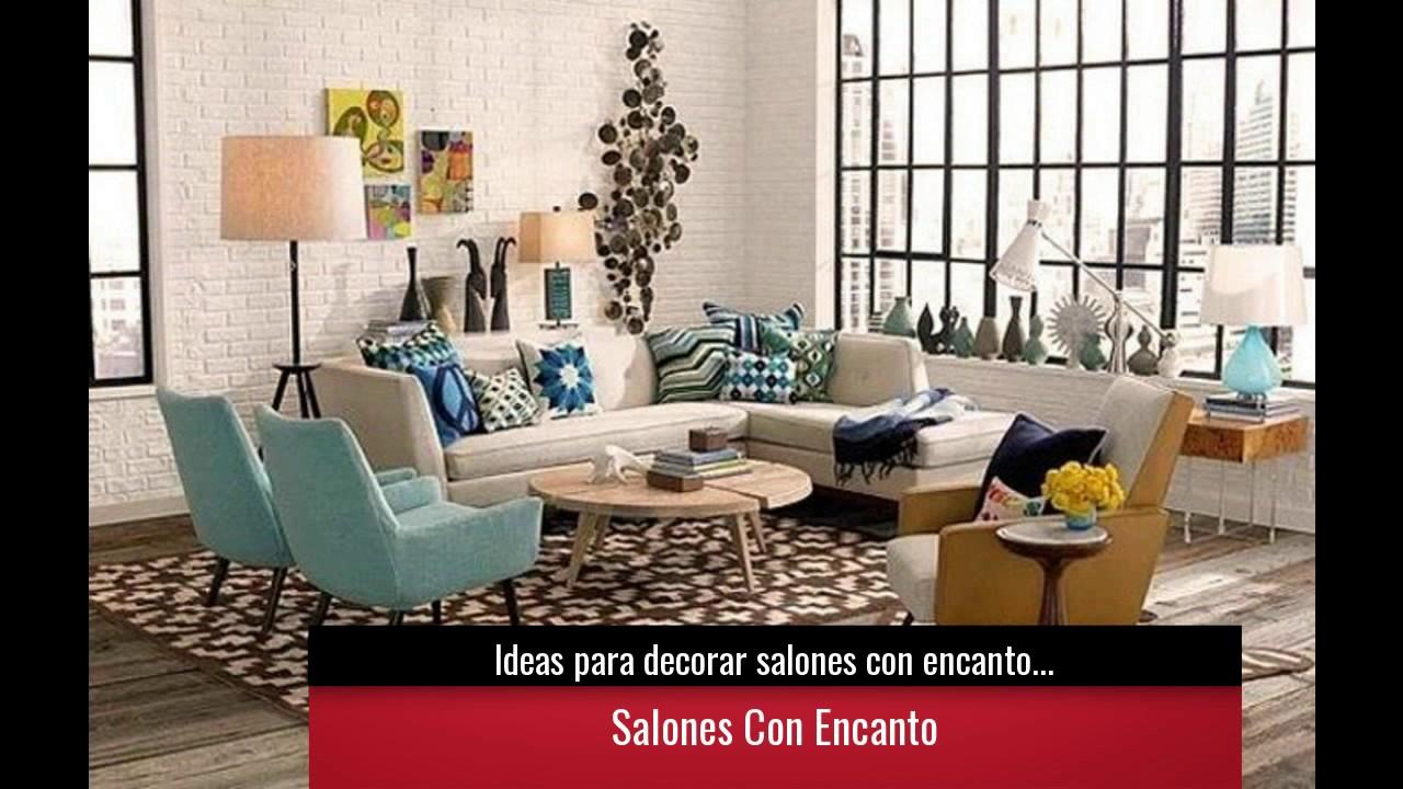 Ideas para decorar salones con encanto colores y estilos - Ideas para decorar despacho abogados ...