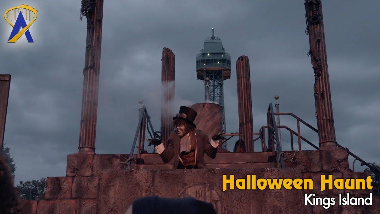 Kings Island Halloween Haunt - YouTube