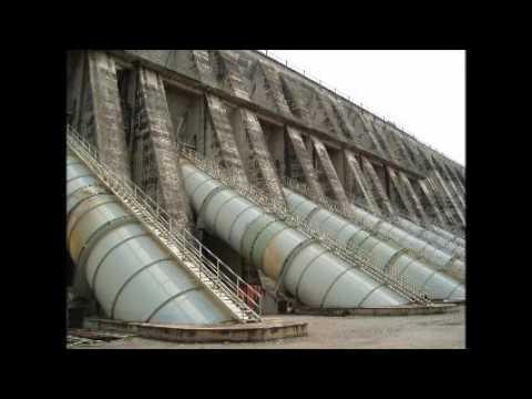 Inga Dam on the Congo River, D R Congo
