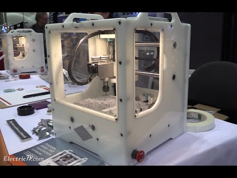 Desktop Cnc Machine Demo The Othermill Westec 2015