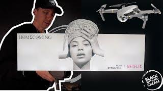 How I Shot the Beyonce #Homecoming Billboard on Mavic Pro | @BenRealVsWorld