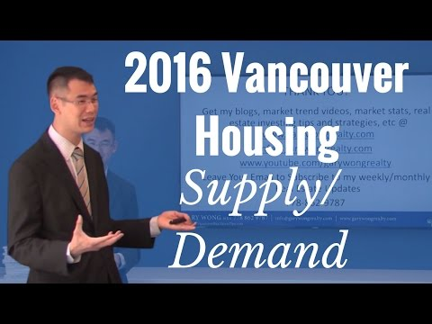 2016 Vancouver Housing Supply, Demand And Vacancy Conditions