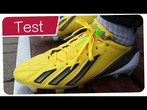 Testing Bale Boots: Adidas F50 Adizero Leather - Outdoor Test + Free Kicks - Germankickerz