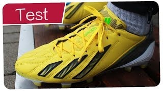 2f1e9d48b Testing Bale Boots  Adidas F50 Adizero Leather - Outdoor Test + Free Kicks  - Germankickerz - Duration  4 minutes