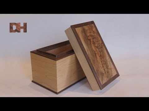 Making a gift box from reclaimed wood