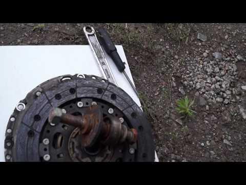 Взведение зарядка саморегулирующего сцепления SAC. Часть 2 практическая. Форд мондео3.