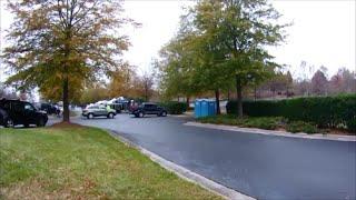 Porta Potty Review MS Charity Turkey Bike Ride Event - Durham, North Carolina, Nov. 23, 2014