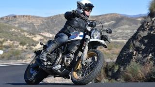 Model 2017 New Bike Ducati Scrambler Desert Sled Test Drive