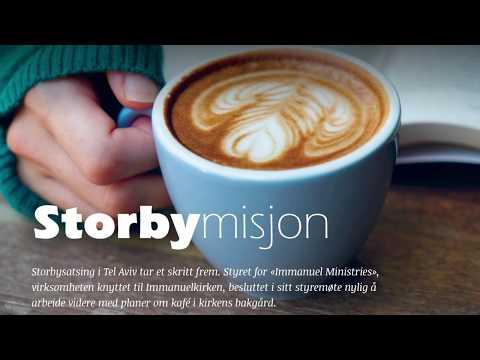 Storbymisjon i Tel Aviv og planer om bygging av kafé (Radio 3,16)
