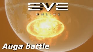 EVE Online - the battle of Auga