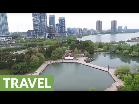 Drone captures phenomenal aerial images of Toronto coast